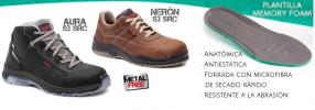 Nueva gama de calzado sin metal